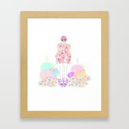 Pastel Power - Fashion Illustration By Chrissy Lau Framed Art Print