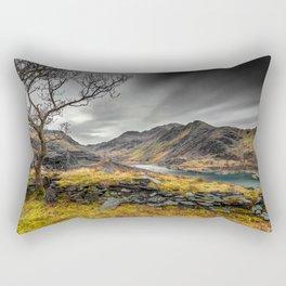 Peris Lake Snowdonia Rectangular Pillow