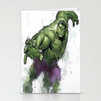 hulk Stationery Cards featuring Hulk  by Isaak_Rodriguez