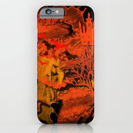 Halloween Kitty iPhone Case