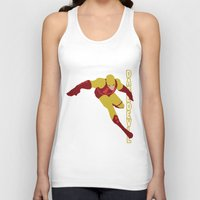 daredevil Tank Tops featuring Daredevil by Young Jake