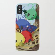Candy Birds iPhone X Slim Case
