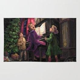 Christmas Sing Along Rug