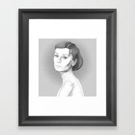 AudreyHepburn Framed Art Print