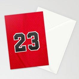Michael 23 Jordan Chicago Bulls Stationery Cards