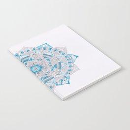 blue mandala Notebook
