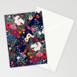 Midnight Garden VI Stationery Cards