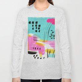 Vibrant Sun and Sea Long Sleeve T-shirt