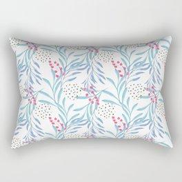 Delicate sprigs 3 Rectangular Pillow