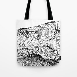 Field and Mountain Tote Bag
