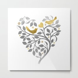Love Branch Metal Print