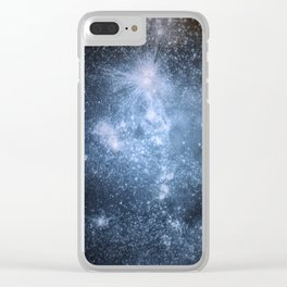 Space Expanse II Clear iPhone Case