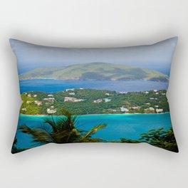 Virgin Islands Rectangular Pillow