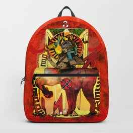 "Ars Tarot of the 12 Zodiac: ""Sagittarius - Temperance"" Backpack"