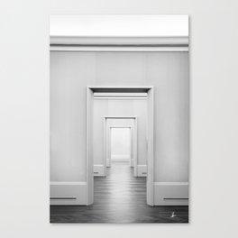 Doors Minimal Interior Canvas Print