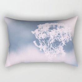 Ice crystal wild plant Rectangular Pillow