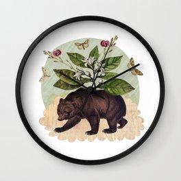 To Where Said the Bear Wall Clock
