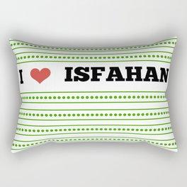 I Love Isfahan Rectangular Pillow
