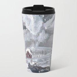 January Print Travel Mug