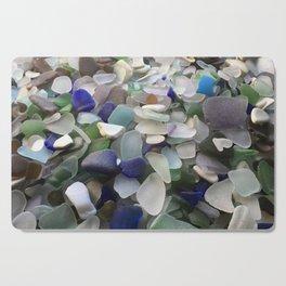 Sea Glass Assortment 5 Cutting Board
