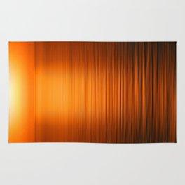 Sunset on the Water-Deep Orange Rug