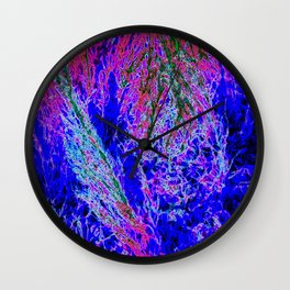 abstract xxx5 Wall Clock