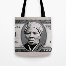 Harriet Tubman Twenty Dollar Bill Tote Bag
