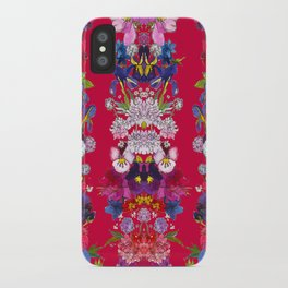 Full Bloom Red iPhone Case