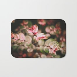 Perfectly spotted plant Bath Mat