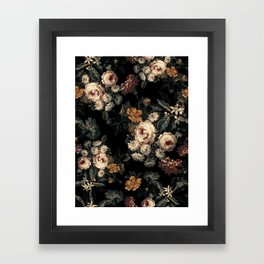Midnight Garden XIV Framed Art Print