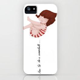 Bomba iPhone Case