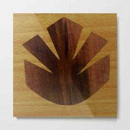 Elegant harmony symmetry starfleet soft motif  maquis badge by Andulino Metal Print
