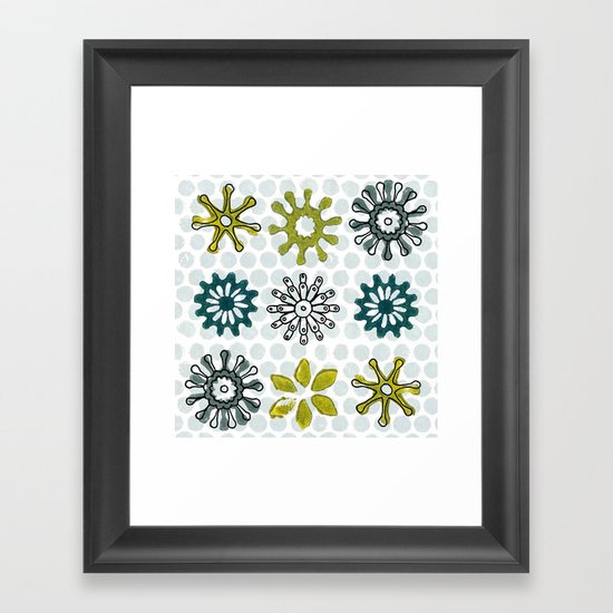 Spiro Petals Framed Art Print