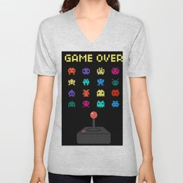 Game Over Unisex V-Neck