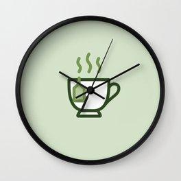 Tea - Icon Prints: Drinks Series Wall Clock
