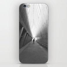 Tunnel of light iPhone & iPod Skin