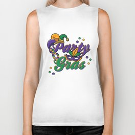 Mardi Gras Parade 2019 Beads Party Shirt Gift Idea Light Biker Tank