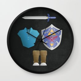 The Legend of Zelda  Ocarina of Time - Water Tunic Wall Clock