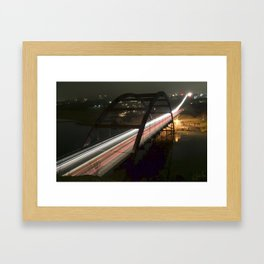 360 Bridge Framed Art Print