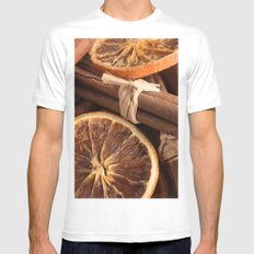 Slice & Spice Mens Fitted Tee White MEDIUM