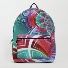 Two Step Dance Of Love On Valentine Day Backpack