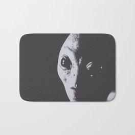 Charcoal Drawing of Alien Bath Mat