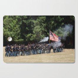 Civil War Battle Re-Enactment Cutting Board
