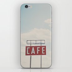 a cafe along Route 66 ... iPhone Skin
