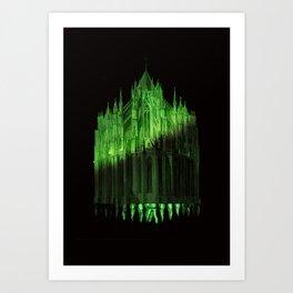 Castel Teeth Art Print