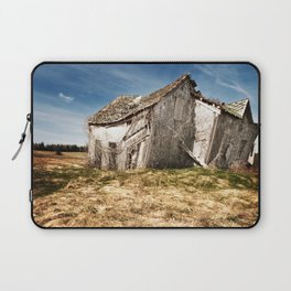 Leaning into the Wind Laptop Sleeve
