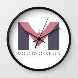 Mounds of Venus Wall Clock