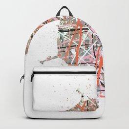 Flight of Color - splat Backpack