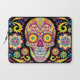 Sugar Skull Art (Spark) Laptop Sleeve