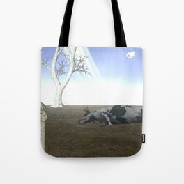 War Stars:Cow Tote Bag